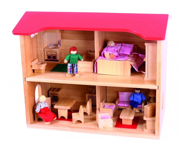 Complete Dolls House Set