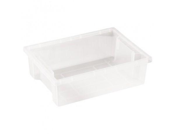 Clear Storage Bin - Large