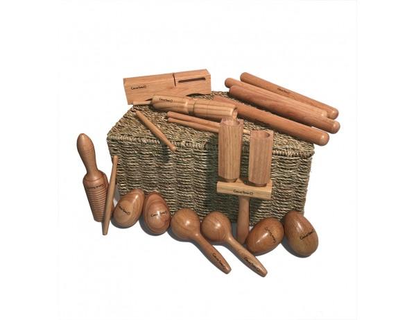 Wooden Basket Set - CleverTunes