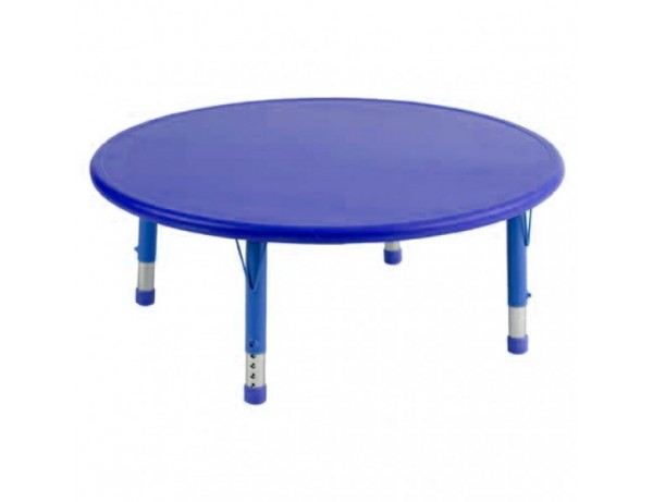 Afterschool Height Adjustable Round Table