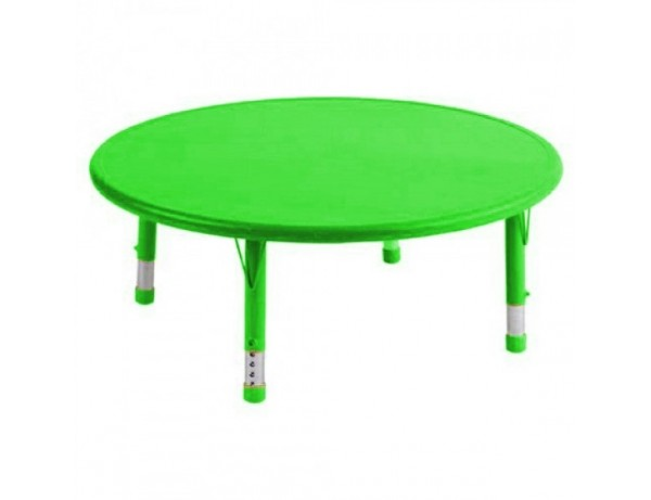 Rainbow Height Adjustable Round Table