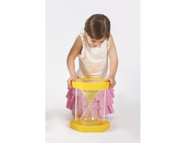 Giant ClearView Sand Timer - 3 Min. Yellow