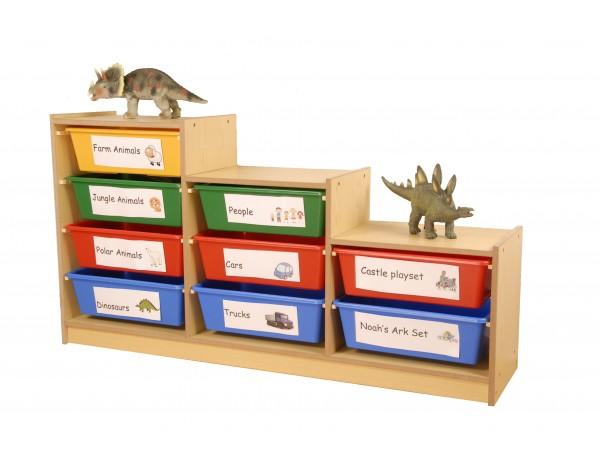 Step Up Tiered Storage Divider