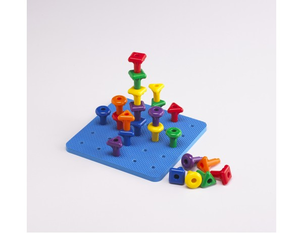 Geo Pegs and Peg Board