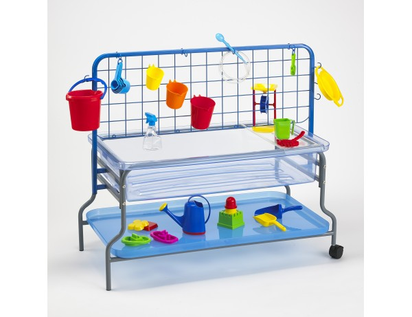 Sand & Water Tray Clear Deluxe 3-8 yrs (58cm)