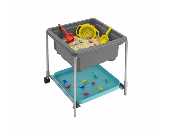 Sensory Station Volcano Grey Activity Tray And 58cm Stand (3 - 8 Years)