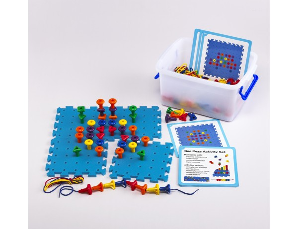 GEO PEGS ACTIVITY SET