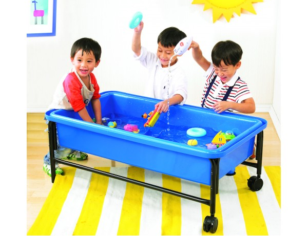 SAND & WATER TRAY-BLUE, 58CM