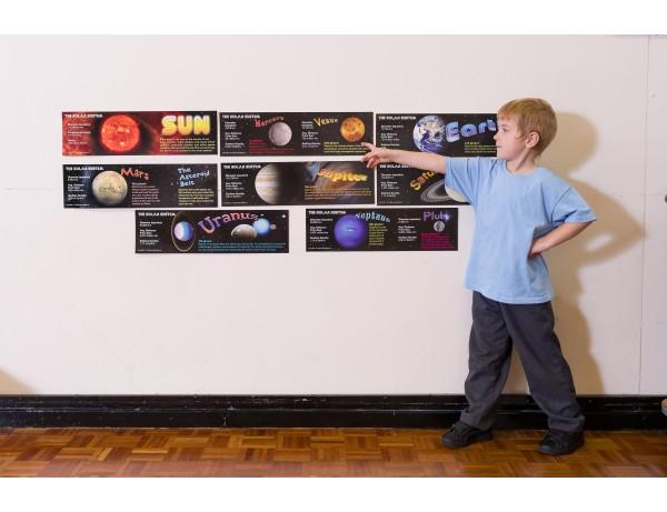 Solar System Bulletin Board Set 8+