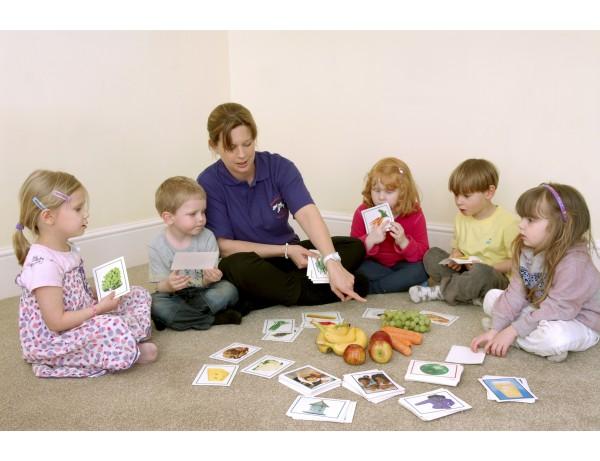 Langauge/Photgraphs Flash Cards - Nouns, Verbs and Adjectives 4+