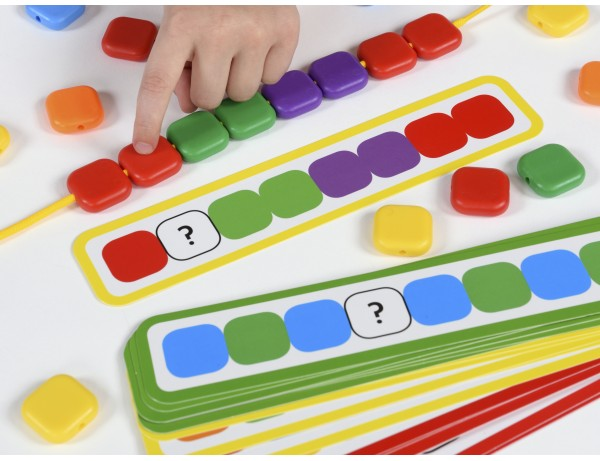 Lacing Colour Sequence Beads 3+