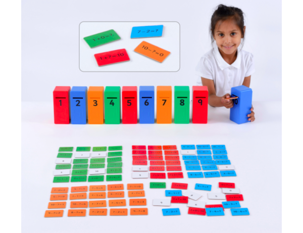 Addition & Subtraction Posting game 4+