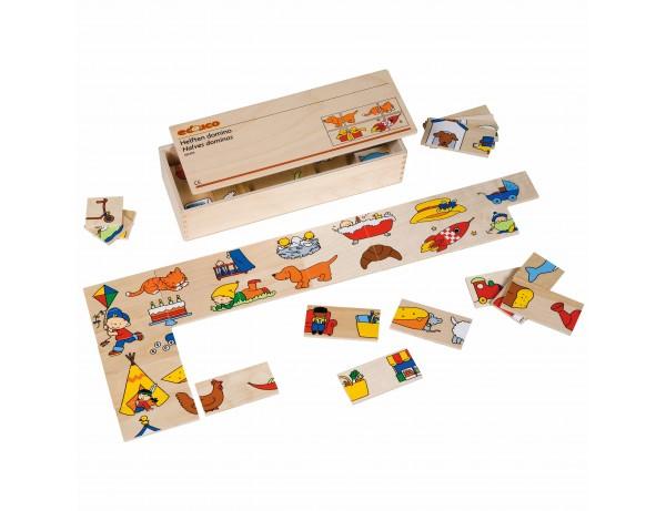 Halves dominos