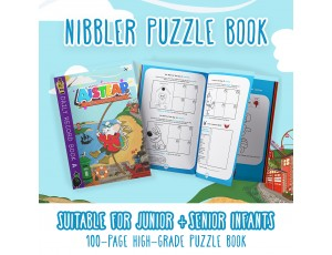 Nibblers Adventures Puzzle Book: Junior & Senior Infants