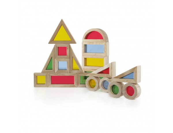 Jr. Rainbow Blocks - 20 pc. set