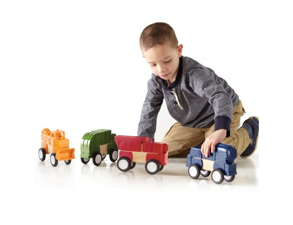 Block Mates® - Construction Vehicles