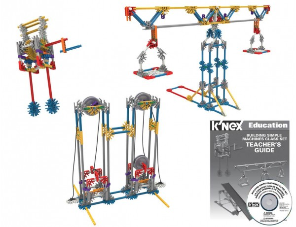 K'Nex Simple Machines Class Set 8+