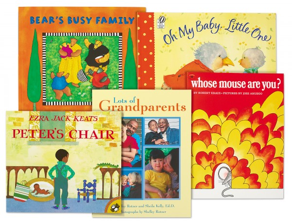 Families Theme Book Library