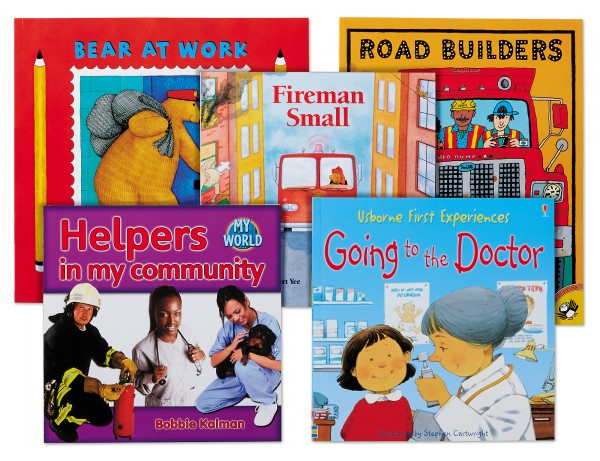 Community & Careers Theme Book Library