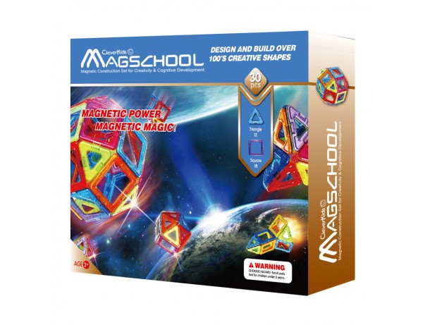 MagSchool - 30 pieces