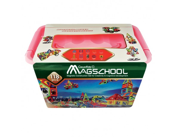 MagSchool - 118 pieces