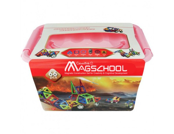 MagSchool - 66 pieces