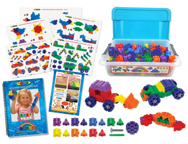 Junior Starter Rainbow 400 Set with Guide Book