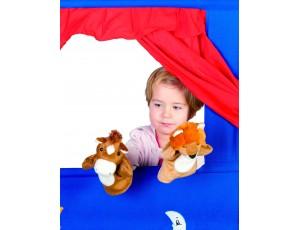 Animals Hand Puppets Set of 5