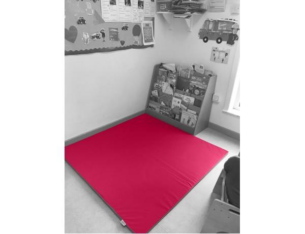 Play Mat Red 140x140x2 cm