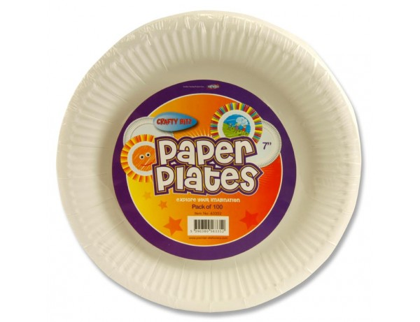 "7"" Paper Plates"