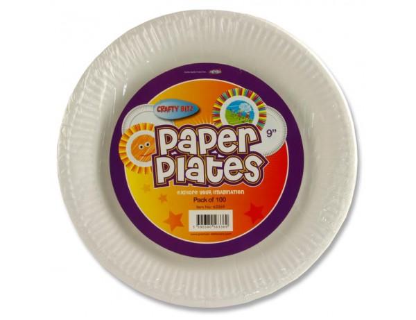 "9"" Paper Plates"
