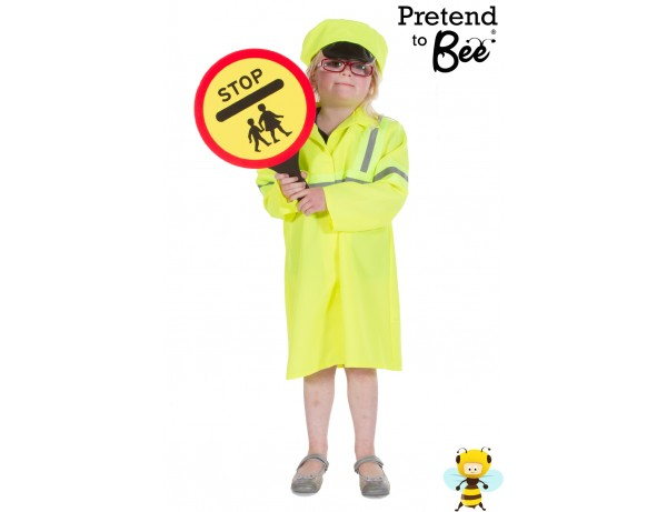 Crossing Patrol Officer Set Costume 5 -7 Years