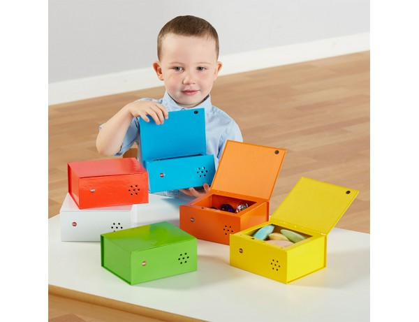 Rainbow Recordable Talking Boxes