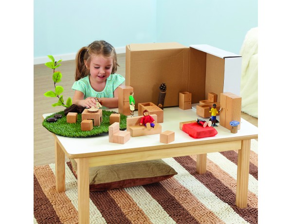 Wooden Dolls House Accessories