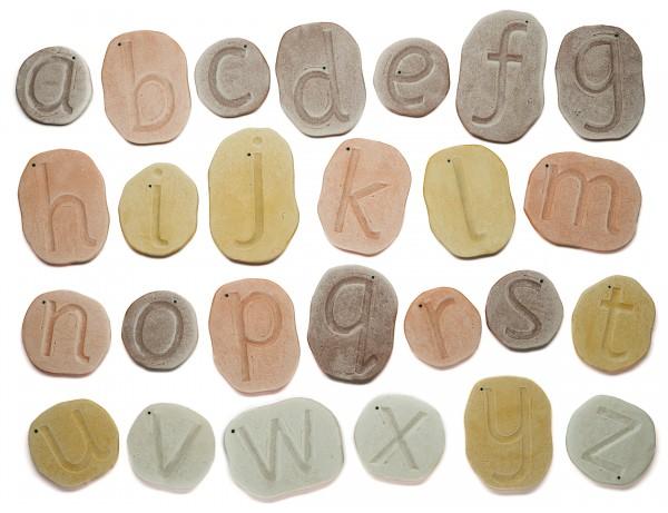 Feels Write Lowercase Letter Stones